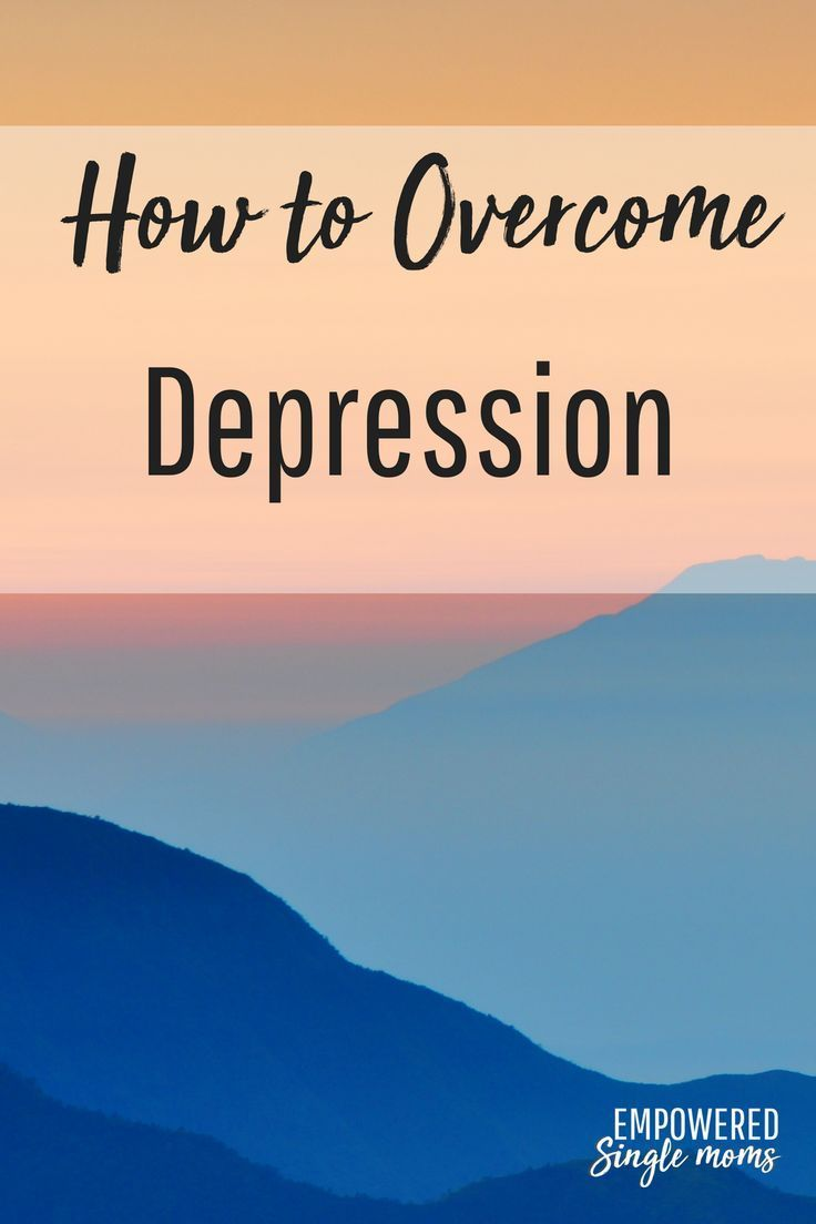 Tips to overcome depression and a free printable worksheet. The ...