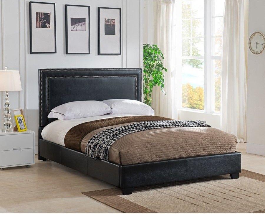 Upholstered Platform Bed Leather Platform Bed Platform Bed