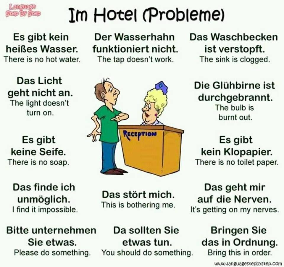 Situations Learn deutsch, Deutsch und Deutsch in englisch