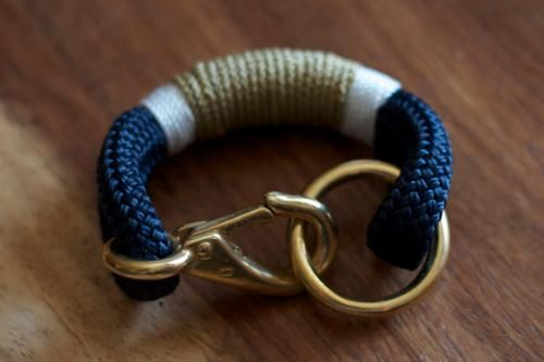 At West End nautical bracelet, $69 (Made in Maine) #madeinusa #madeinamerica
