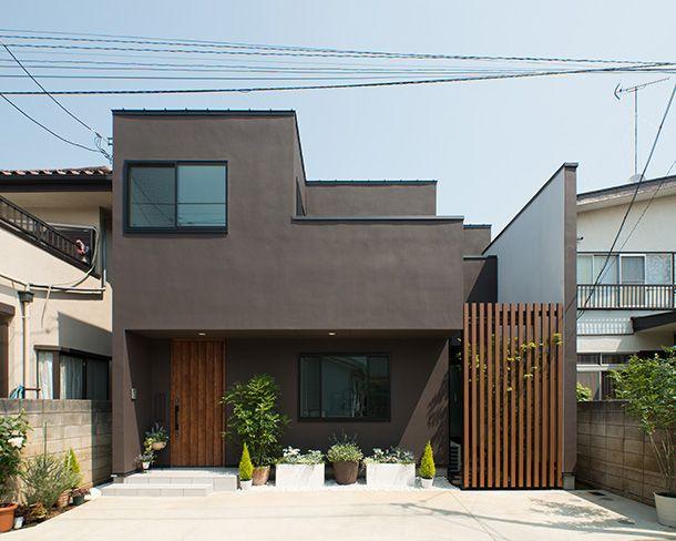 Pin De Gocomo En O脇邸 Arquitectura Casas Fachadas