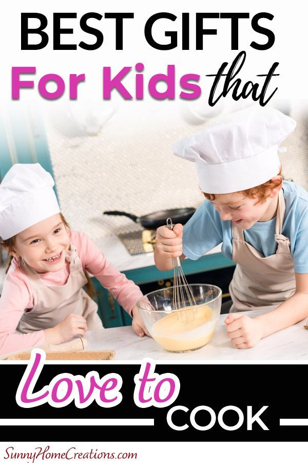 Best Gifts for Kids That LOVE to Cook or Bake