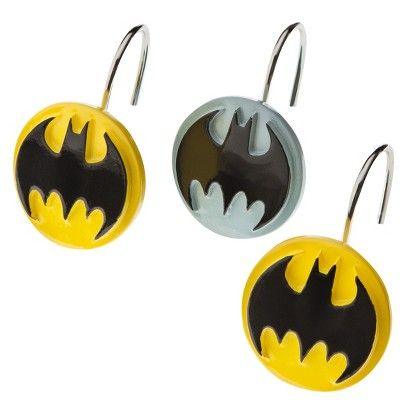 Batman Shower Hooks