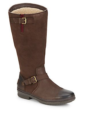 e8fc82c7bbb UGG Australia Thomsen UGGpure-Lined Suede & Leather Boots - Brown ...