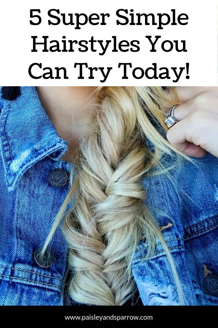 5 Easy Hair Tutorials to Try Today | Easy hairstyles ...