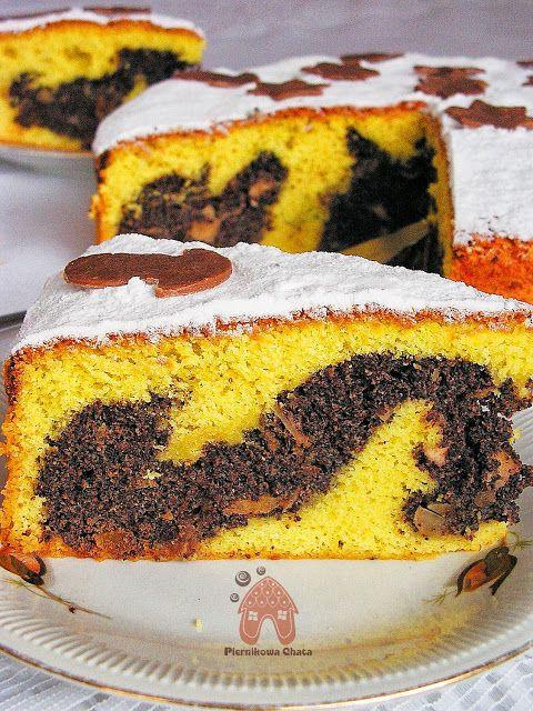 Ciasto cytrynowe z mamkiem  Makowiec w cieście cytrynowym