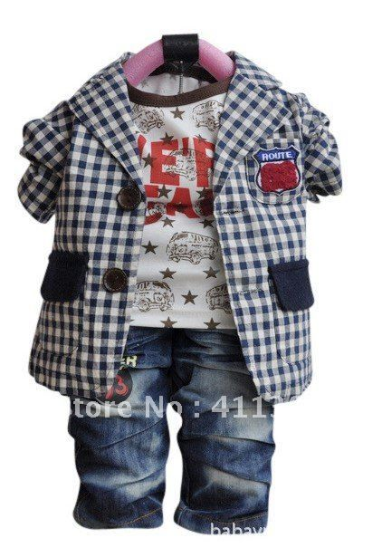 Cool Baby Boy Clothes   clothes wholesalein Clothing Sets from Apparel  Accessories on