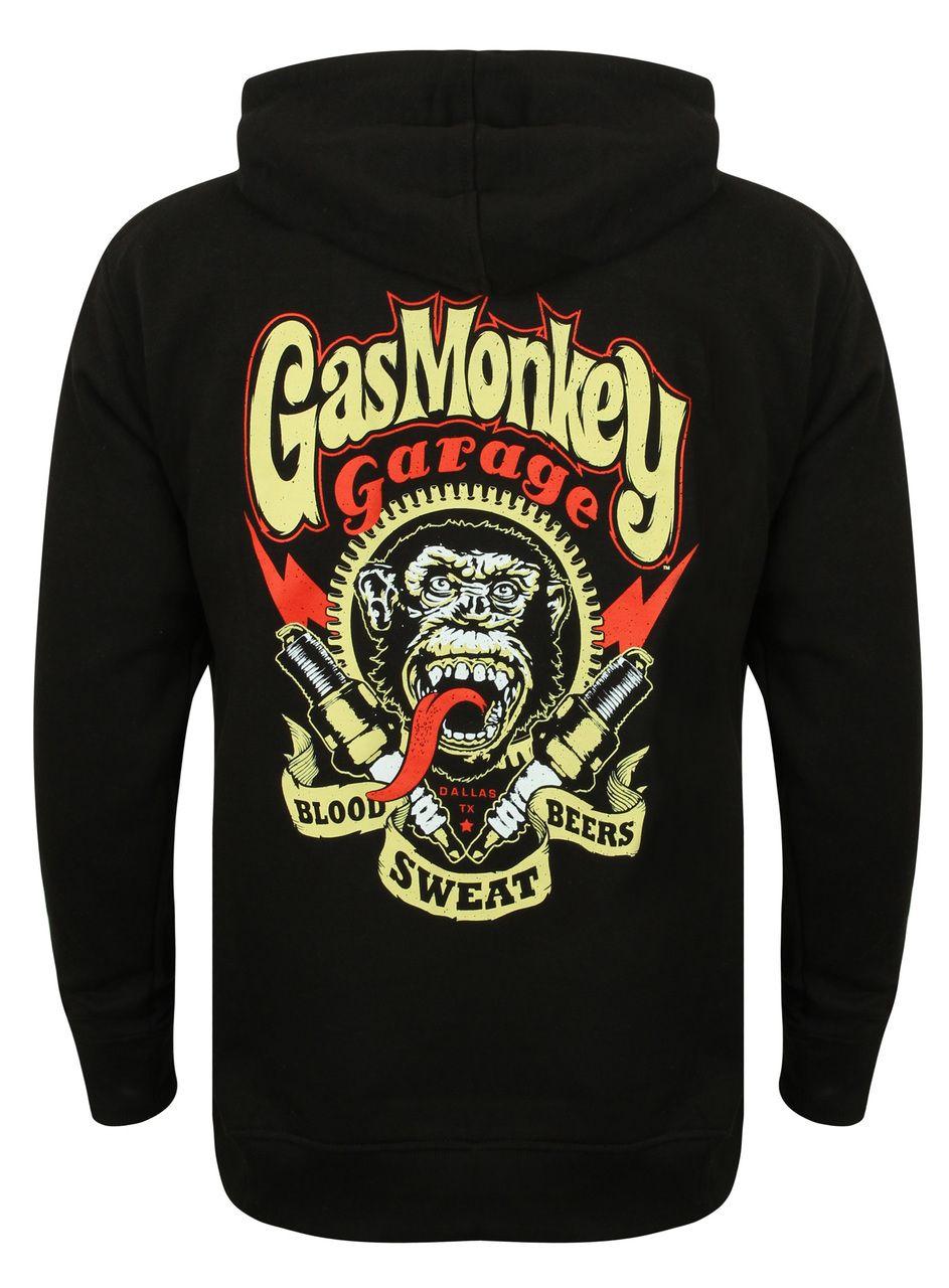 Gas Monkey Garage Zip Hoody Sparkplugs