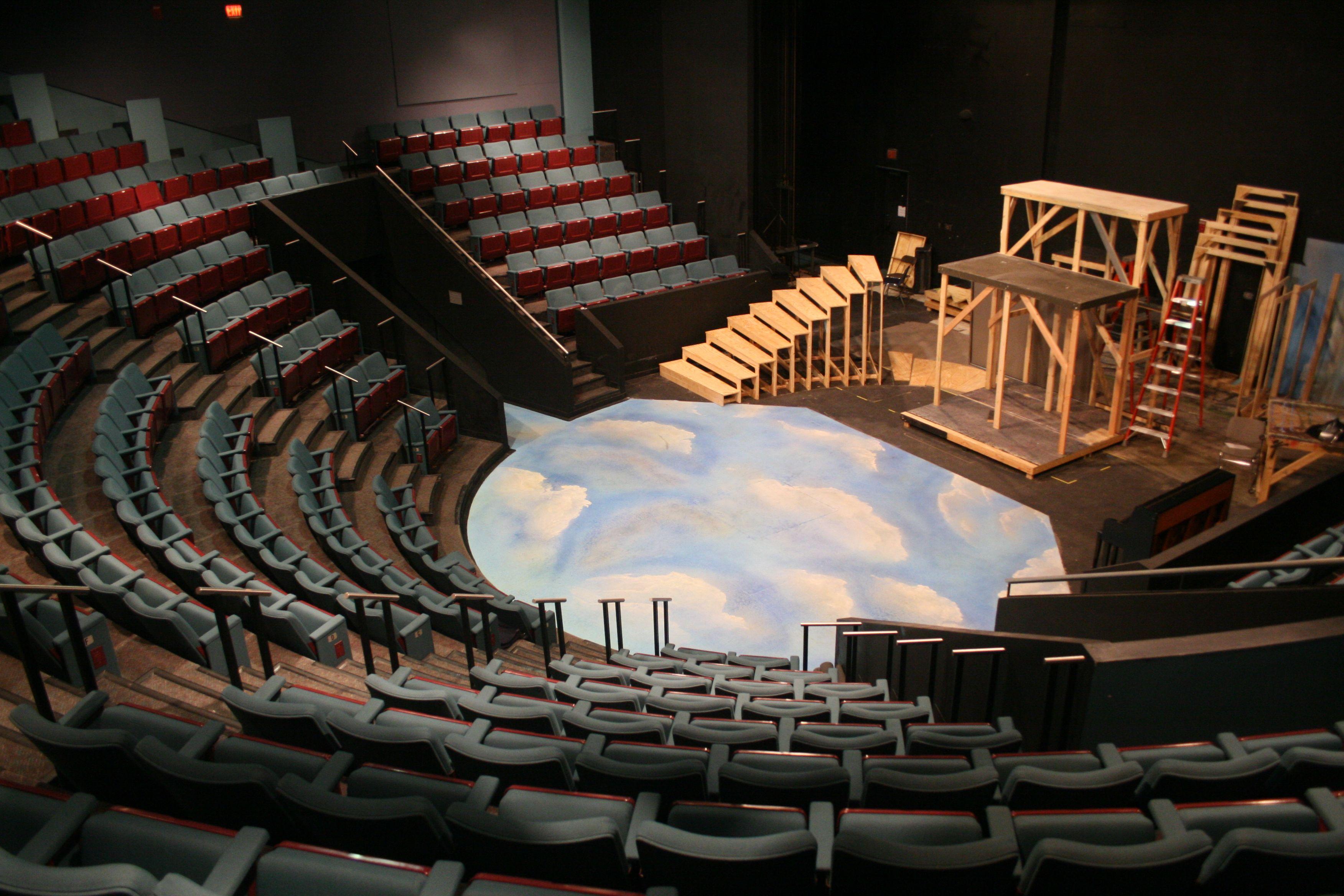 Jesse H And Mary Gibbs Jones Theater Theatre Architecture Set Design Theatre Scenic Design