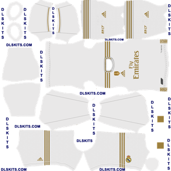 Real Madrid 2019 Kits For Dream League Soccer 2020 In 2020 Real Madrid Kit Real Madrid Madrid Football Club