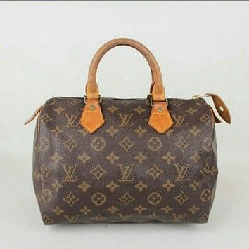 215a32f9aacc Louis Vuitton Speedy 25 Handbag Brown Satchel. Save 47% on the Louis  Vuitton Speedy