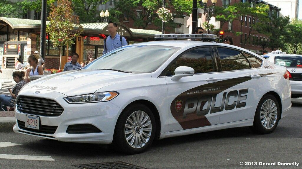 Harvard University Police Ford Fusion Police Cars Ford Fusion