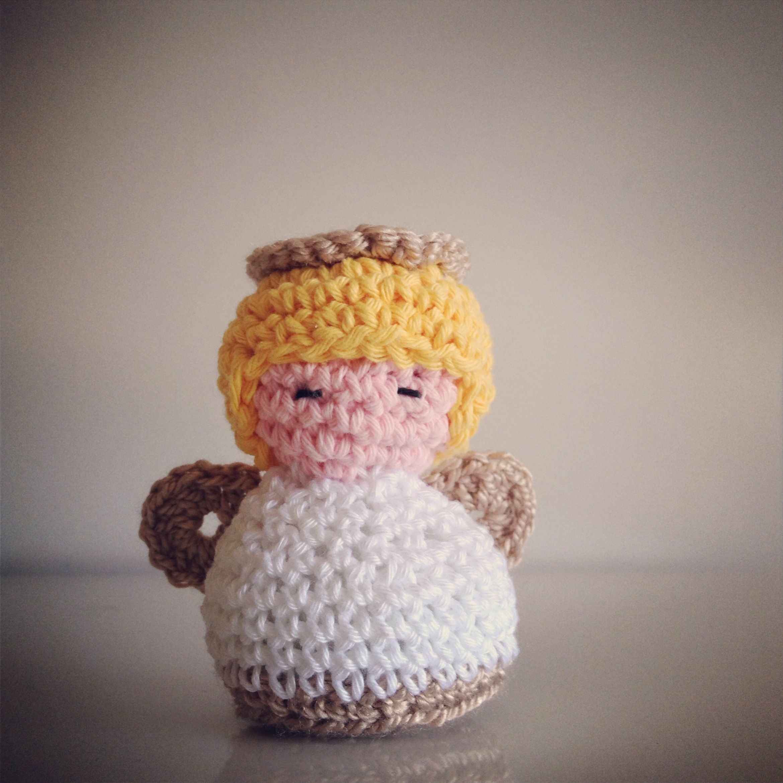 Ángel en crochet-souvenir bautismo | bautismo | Pinterest