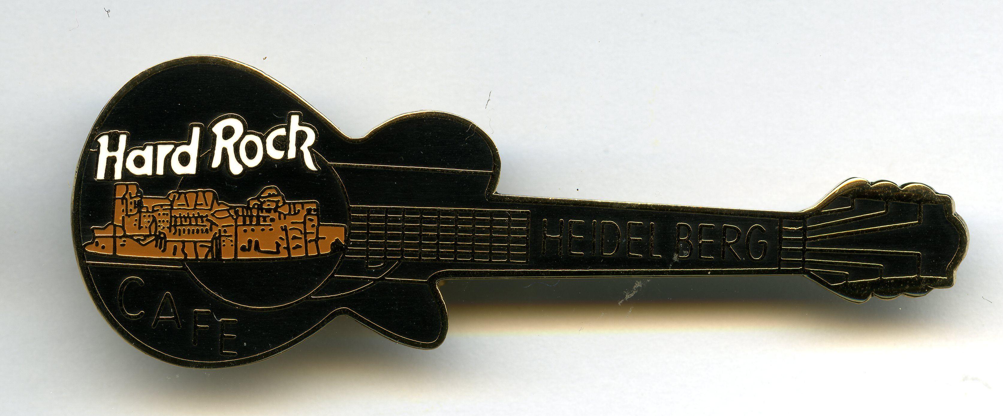 Heidelberg - Hard Rock Cafe Guitar Pin | Hard rock cafe