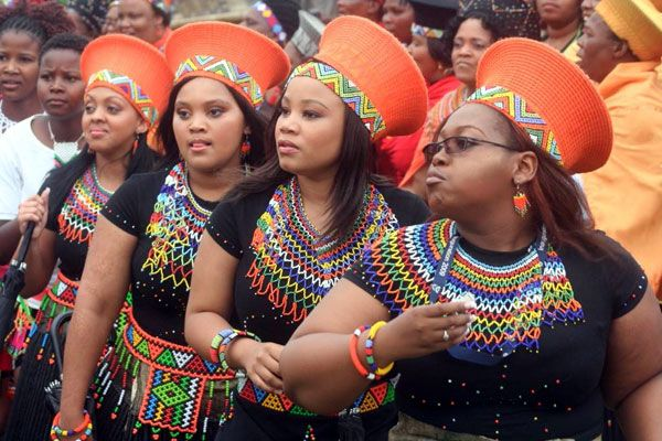 Image result for Zulu Traditional attires