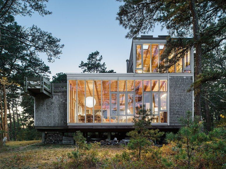 Modernist house available to rent on Cape Cod....Halprin