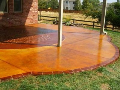 Beautiful Concrete Patios | Stamped, Stained | Denver Golden Arvada Boulder CO