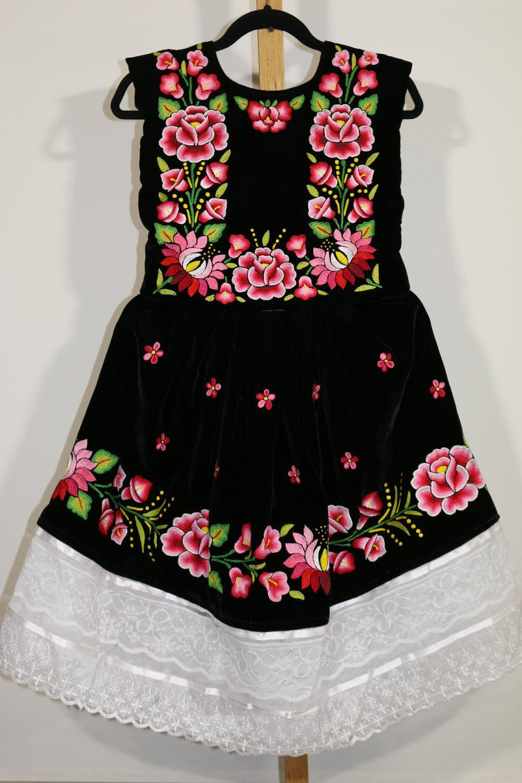 Envío Gratis Vestido De Tehuanita Vestido Mexicano Niñas