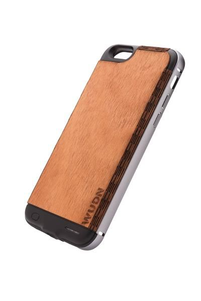 purchase cheap 0a614 cff3f Ultra-Slim, Wooden iPhone 6 / 6s / 6 Plus Charging Battery Case ...