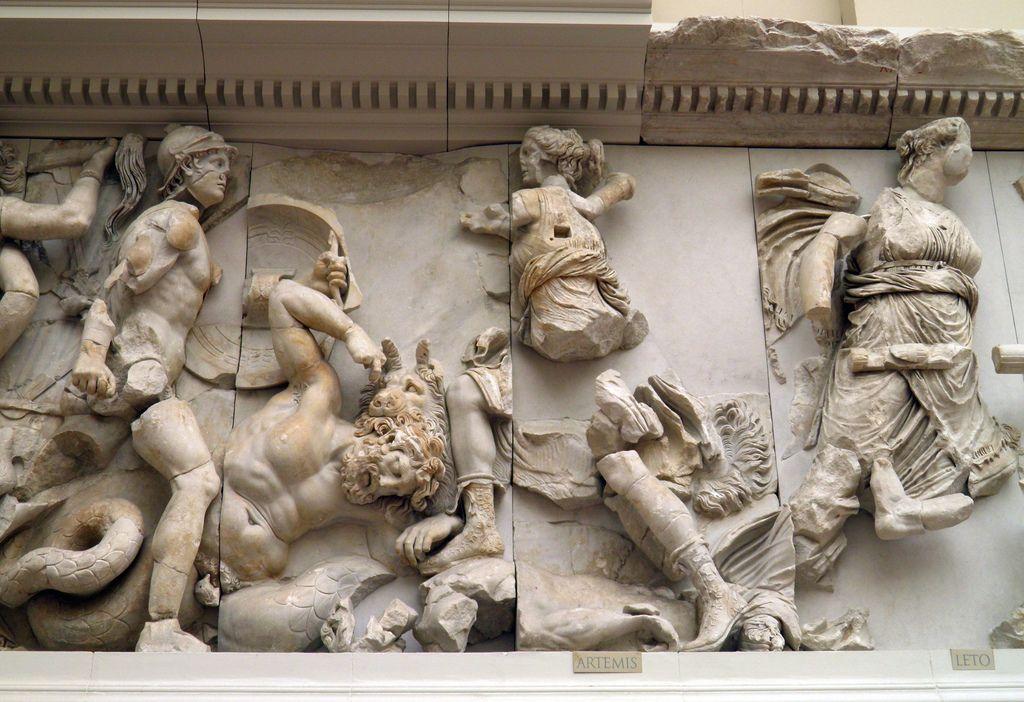 Pin On Altar Pergamon Frieze