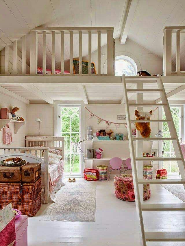 Gorgeous Loft Spaces Home Mezzanine Bedroom