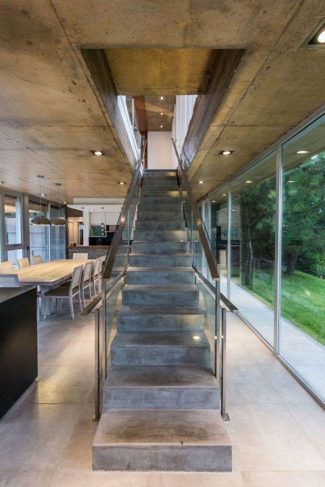 Escalier droit et escalier tournant en 100 designs superbes House