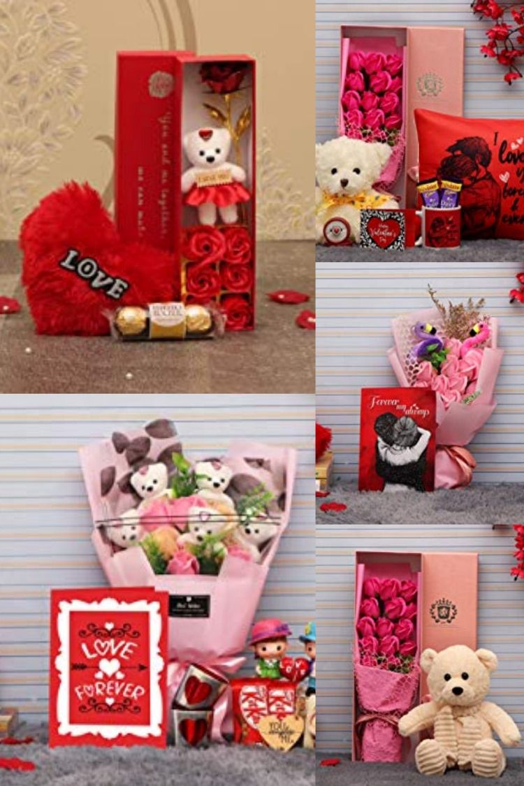 Valentines Day Gifts Combo Valentines Day Gifts For Friends Valentines Balloons Husband Valentine