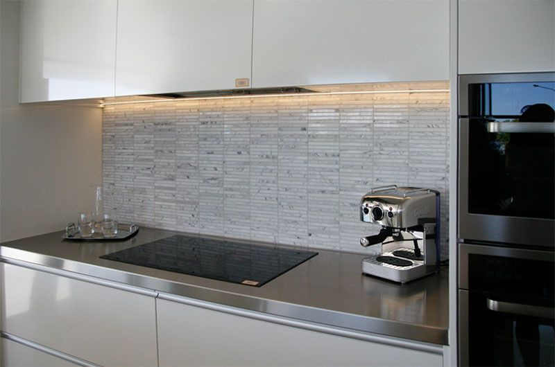 White Kitchen Splashback Ideas simple kitchen tiled splashback ideas glasscreoglass design