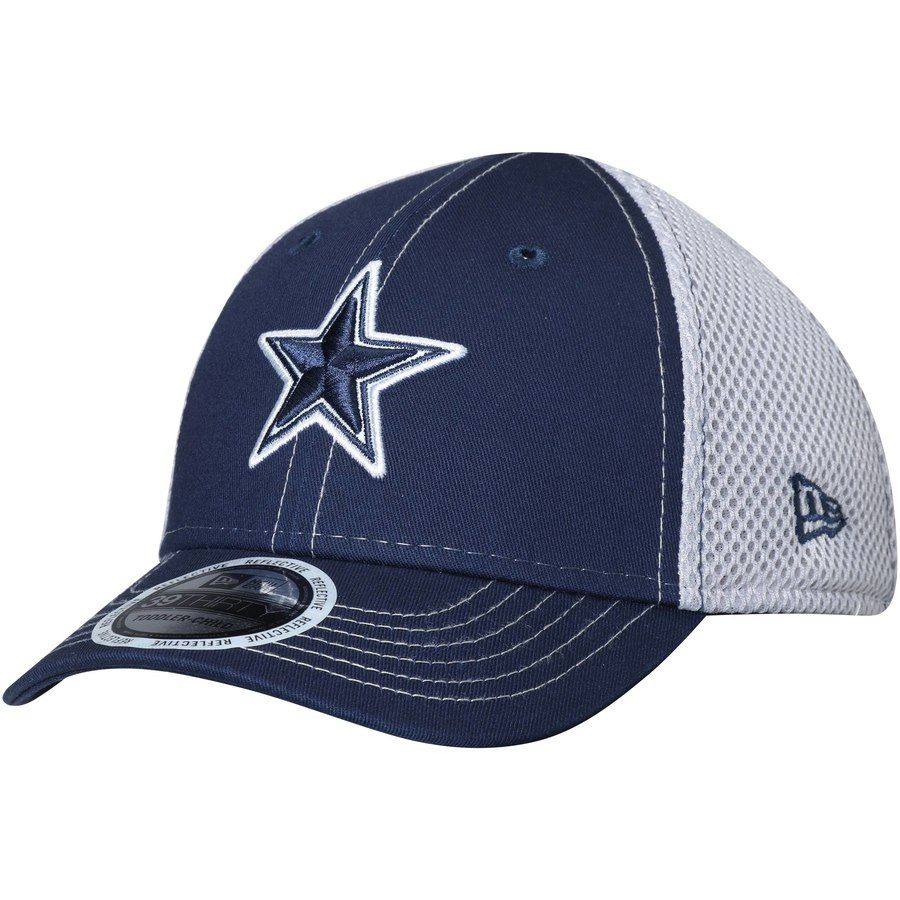 Toddler Dallas Cowboys New Era Navy Pop Flect 39THIRTY Flex Hat ... 376026eda5bf