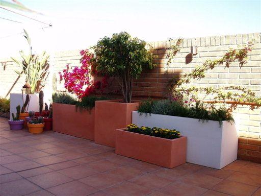 Jardineras De Obra Jardines Patio Y Jardin Jardineras