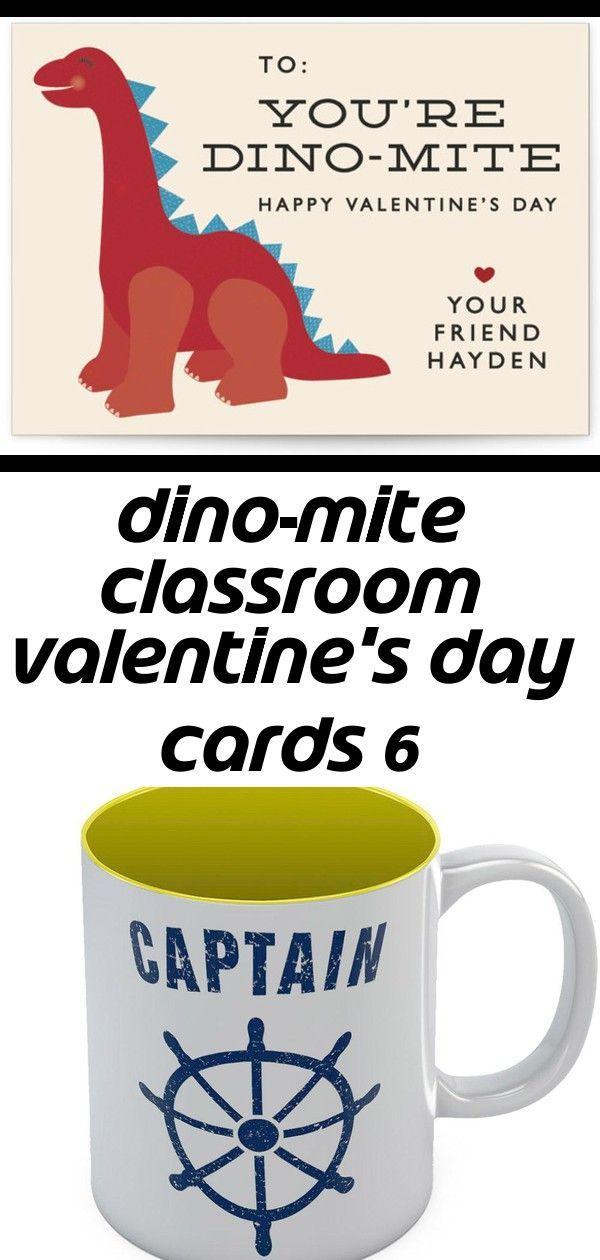 Dino-mite classroom valentine's day cards 6 -  Dino-mite Classroom Valentine's Day Cards Captain