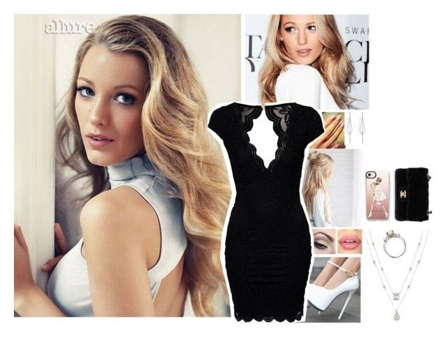 """""""ootd"""" by l0st-demig0ds ❤ liked on Polyvore featuring Mehron, John Zack, Sephora Collection, Diane Kordas, Casetify and Chanel"""