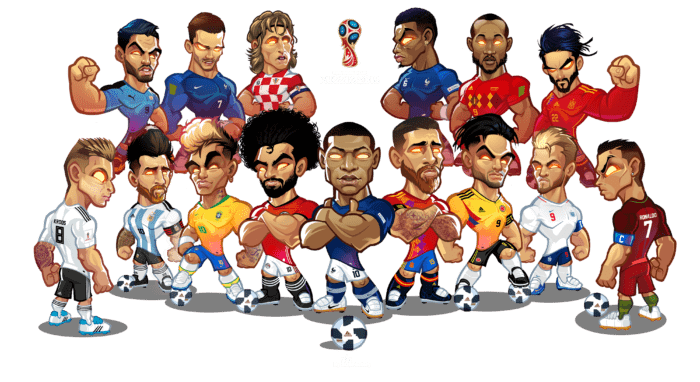 Mascotization Russia 2018 Soccer Drawing Football Drawing