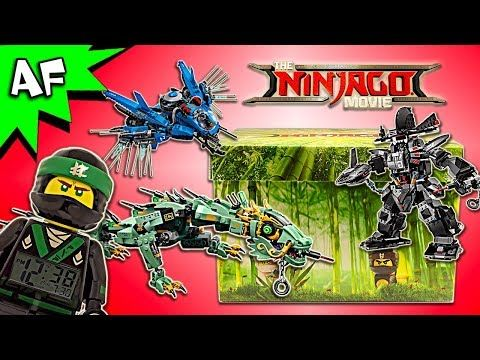Lego Ninjago Movie Influencer MYSTERY BOX Unboxing & Review ...