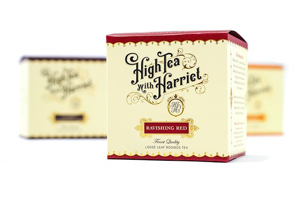 High Tea with Harriet by Ginger Monkey, via Behance