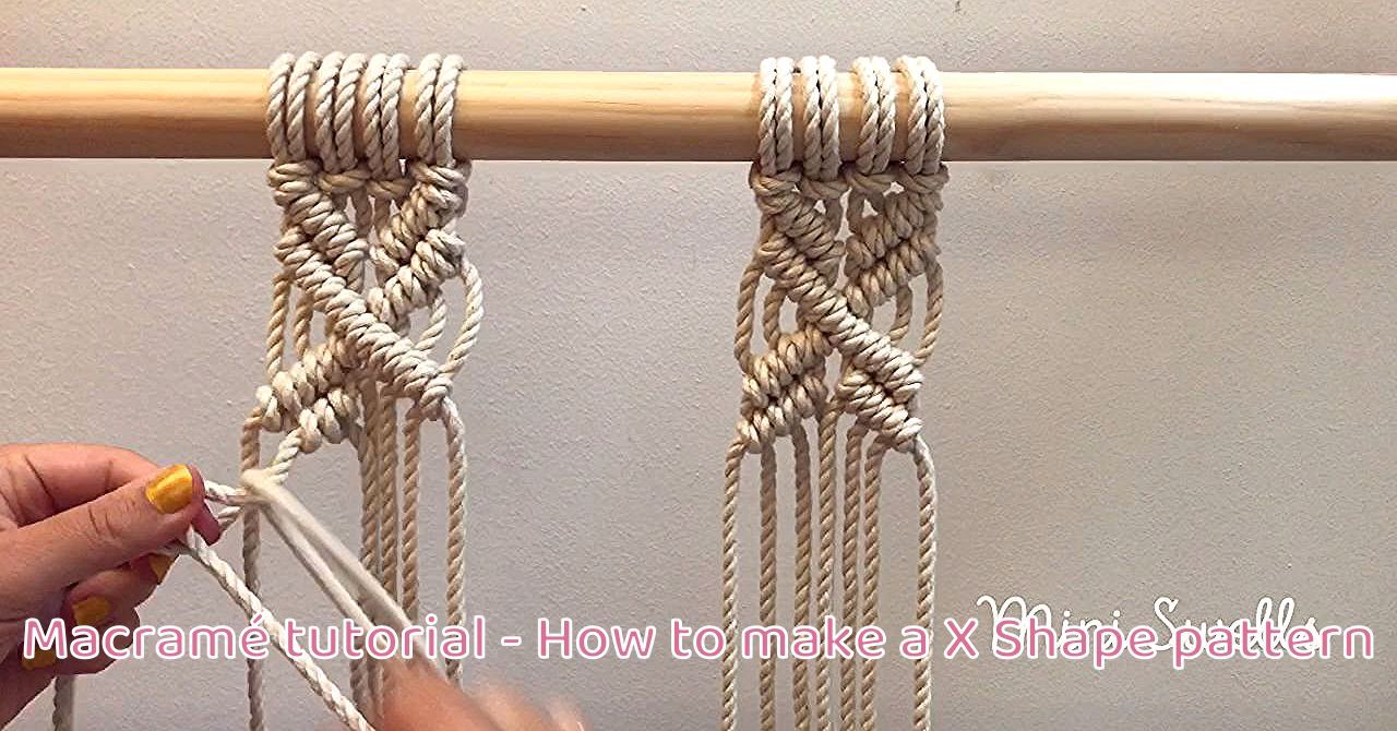 To watch a slow versioning of this check out my YouTube channel.   Such a fun pattern to add to any Macramé project. For more inspiration or fiber art supplies check out our shop. #macrame #macramewallhanging #macrametutorial #macrameknots #macrameplanthanger #macrameart #macramépattern #macramemakers #macramecord #macrameartist #diyhomedecor #miniswells
