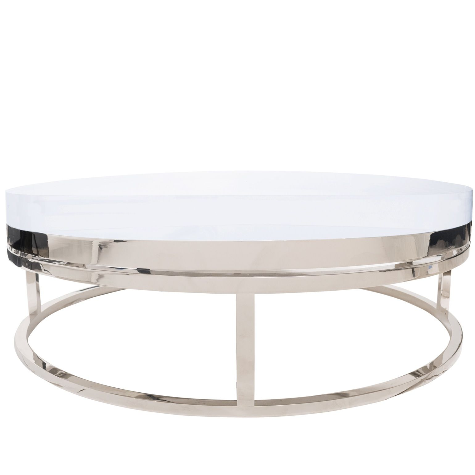Mies Round Coffee Table