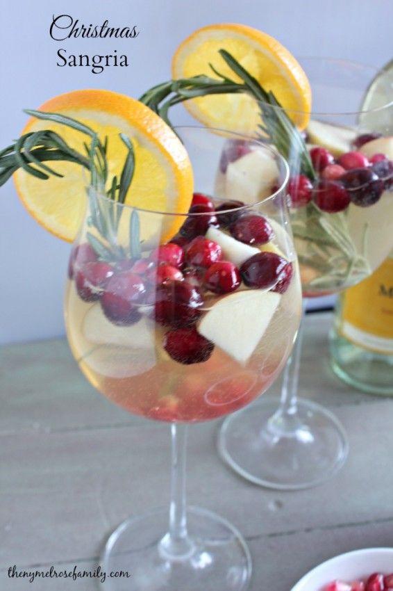 Christmas Sangria | Rezept | Pinterest | Glück, Essen trinken und Essen