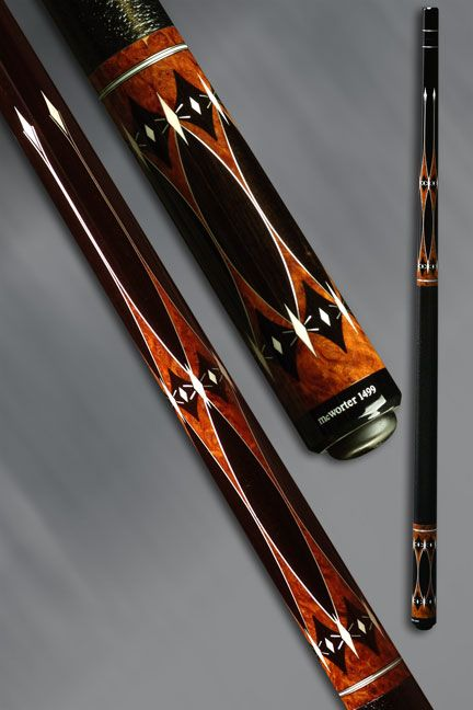 Jerry Mcworter Pool Cue The Pinnacle Pool Cues Custom Pool