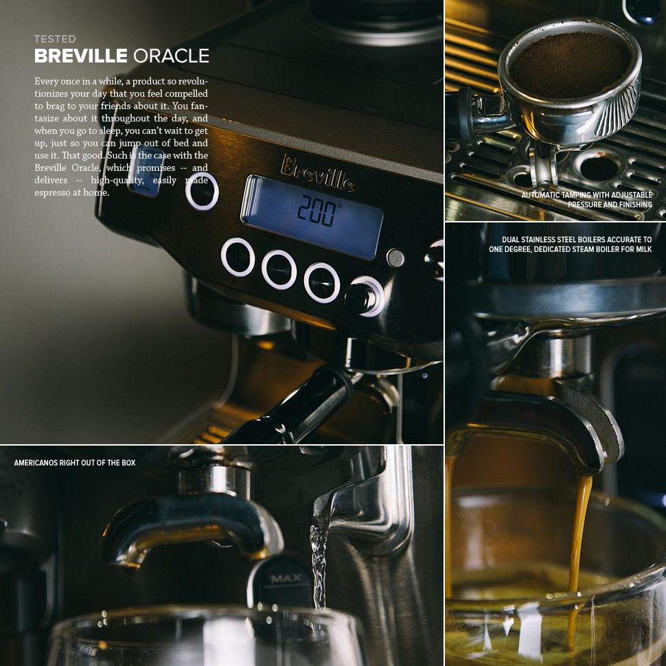 Tested Breville Oracle Espresso Machine Breville Espresso Machine Breville