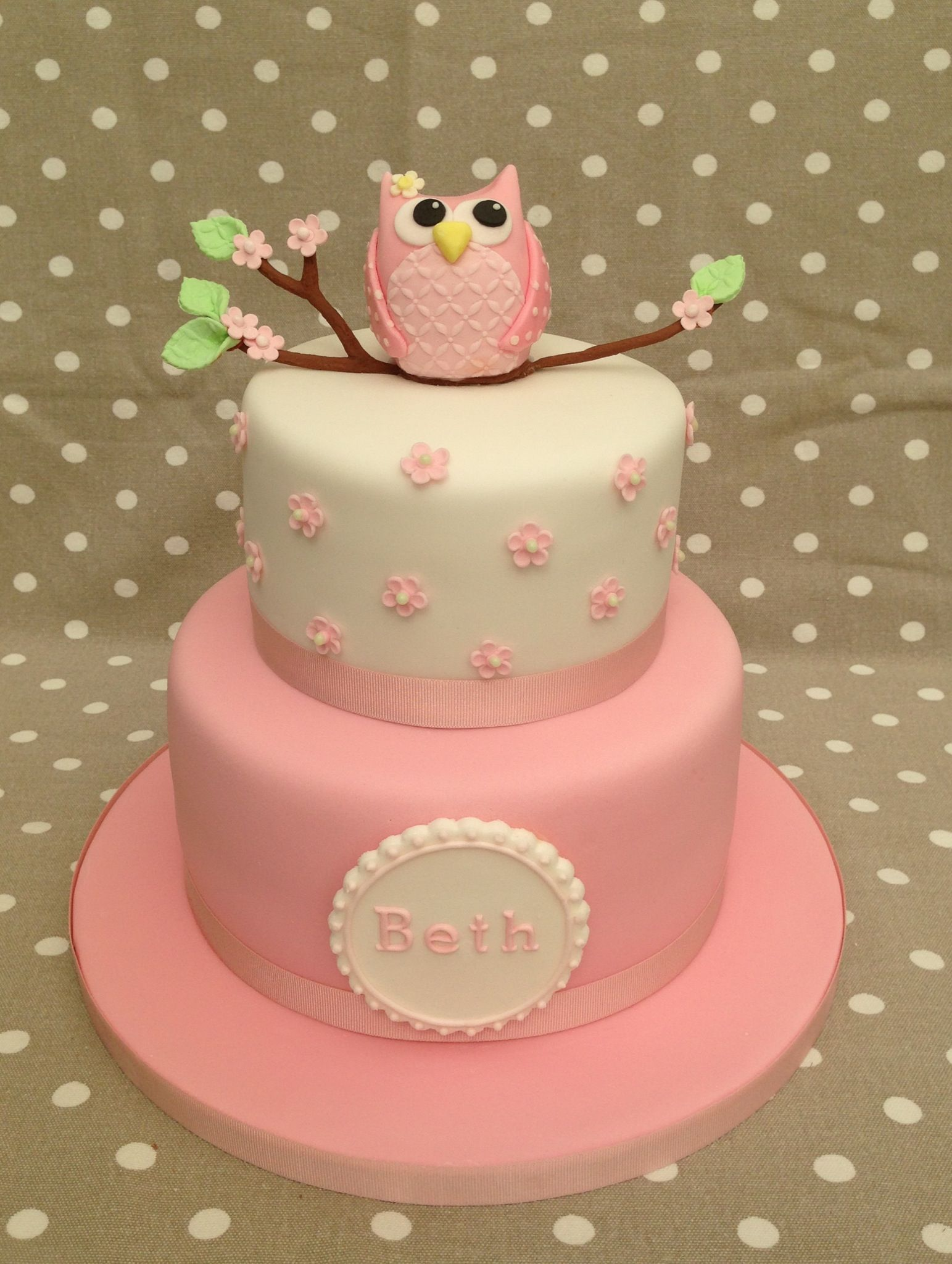 Owl Birthday Cake Emma And Bella Birthday Ideas Pinterest Cake