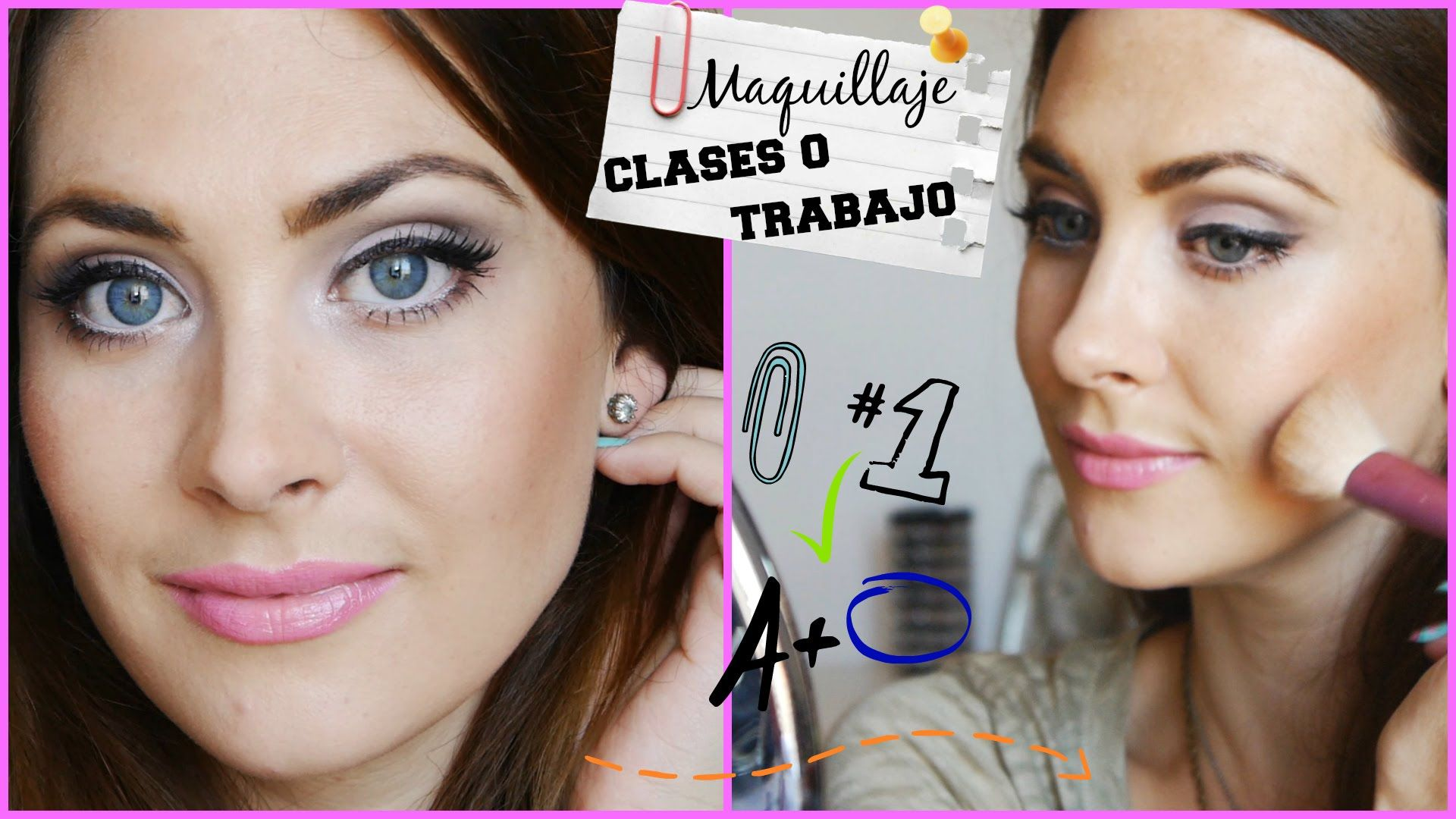 Maquillaje regreso a clases/trabajo (instituto o universidad). Back to S...