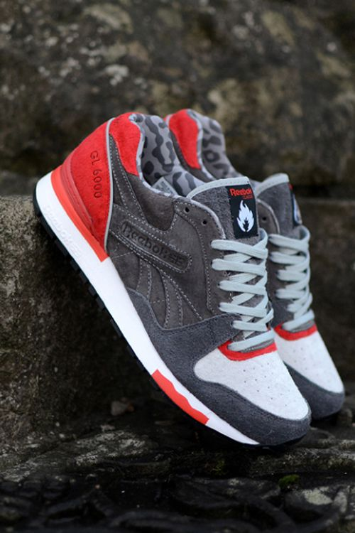 """I RARELY like anything Reebok makes, but these are FIRE!!! hanon x Reebok GL6000 """"3 Castles"""""""