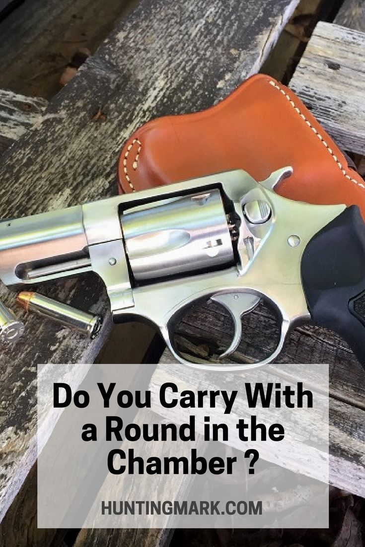 Do you carry with a round in the chamber let us know in