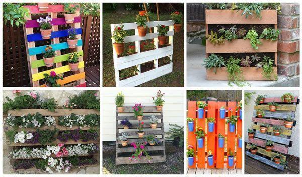 Ideas para reciclar palets - Marina Creativa   Pallets   Pinterest ...