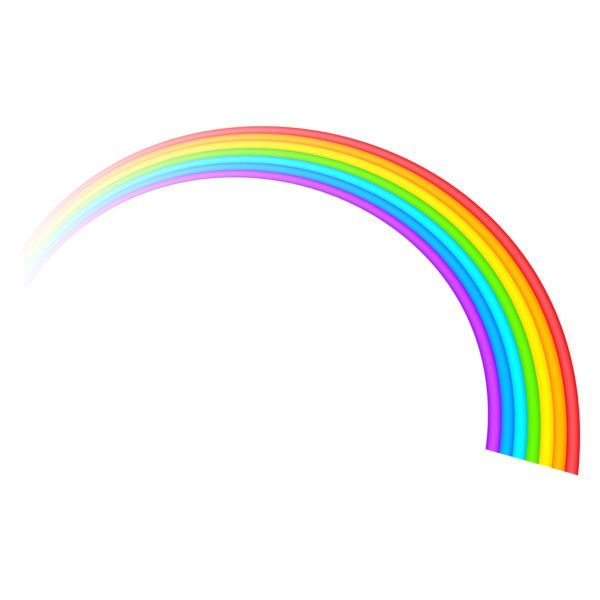 Rainbow Clipart 1 Liked On Polyvore Featuring Backgrounds Fillers Other And Decor