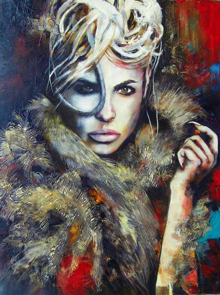 Céline Brossard, 1960 | Abstract Mixed media painter | Tutt'Art@ | Pittura * Scultura * Poesia * Musica |