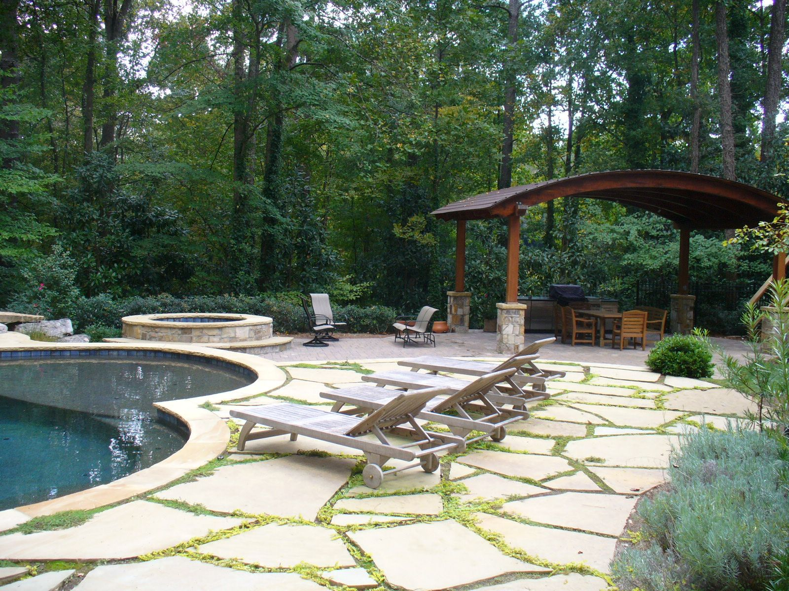 Our design teams are always creating unique and inviting ... on Outdoor Living Space Company id=63517