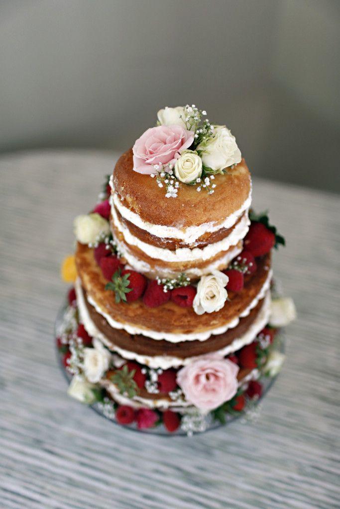 Unfrosted cake strawberry shortcake cake unfrosted wedding cake & Unfrosted cake strawberry shortcake cake unfrosted wedding cake ...