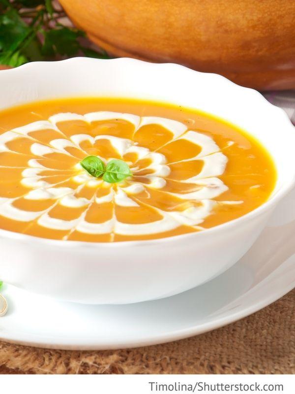 Kürbissuppe Sup is tykwy - суп из тыквы - Russische Rezepte - russische k che rezepte